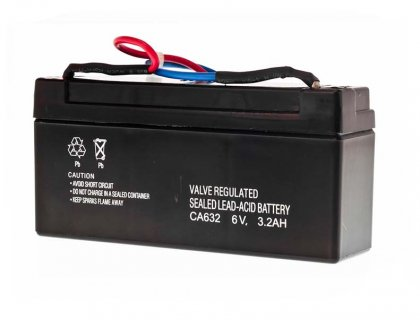 Battery Lead Acid 6V 3,2Ah