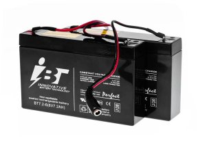 Battery Lead Acid 6V 7,2Ah