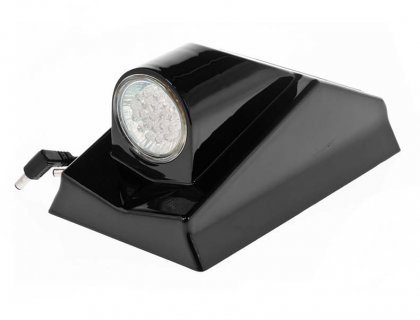 Front light with voltage screen